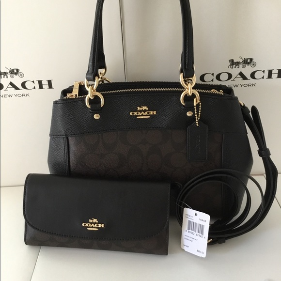 Coach Bags   Mini Brooke Carryall With Wallet Nwt   Poshmark 1acd7b1034